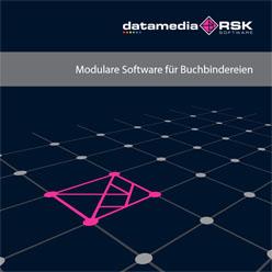 """Broschüre """"Modulare Software für Buchbeindereien"""""""